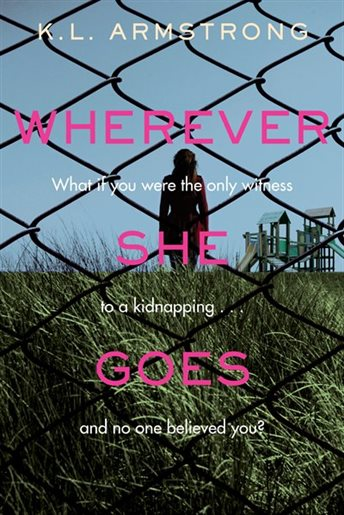 Wherever she goes book cover